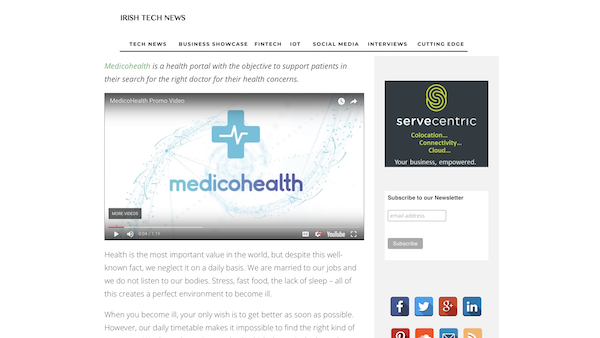 MEDICOHEALTH – MAKING THE BEST OF YOUR HEALTH
